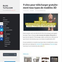 9 sites pour télécharger gratuitement tous types de modèles 3D - Blog Tuto.com