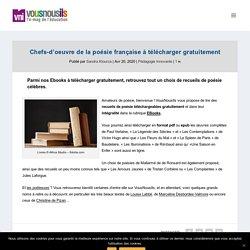 Chefs-d'oeuvre de la poésie française à télécharger gratuitement