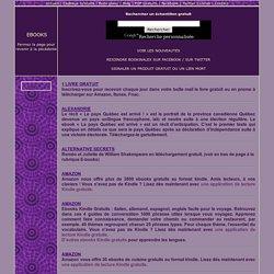 Ebooks a telecharger gratuitement au format PDF