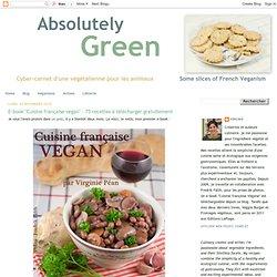 """E-book """"Cuisine française vegan"""" : 75 recettes à télécharger gratuitement"""