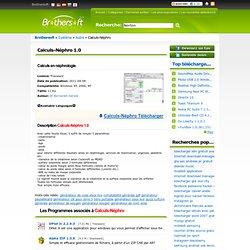 Télécharger Calculs-Néphro gratuit en francais,télécharger gratuitement Calculs-Néphro 1.0