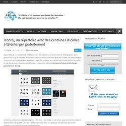 Iconify, un répertoire avec des centaines d'icônes à télécharger gratuitement