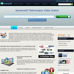 Télécharger gratuitement des vidéos de YouTube ou autre site Internet