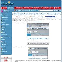Télécharger gratuitement des musiques libres de droits - Tous les navigateurs