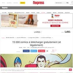15 000 comics à télécharger gratuitement (et légalement)