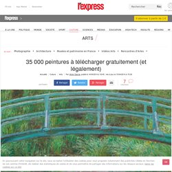35 000 peintures à télécharger gratuitement (et légalement)