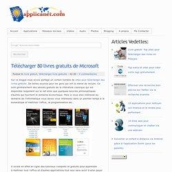 Télécharger 80 livres gratuits de Microsoft