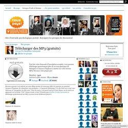 Télécharger des MP3 (gratuits)