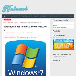 Télécharger les images ISO de Windows 7 !