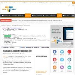 Télécharger les documents sur issuu.com