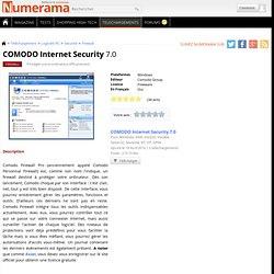Télécharger COMODO Internet Security