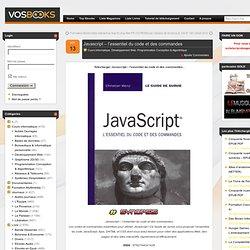 Télécharger Javascript – l'essentiel du code et des commandes