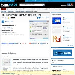 Télécharger KidLogger 5.8.1