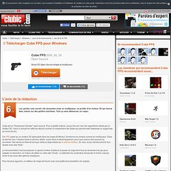 Cube FPS - Gratuit, Shoot 3D Open Source simple et multijoueur