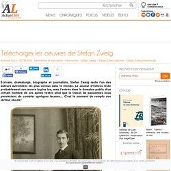 Télécharger les oeuvres de Stefan Zweig