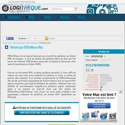 Télécharger PDFtoMusic Mac