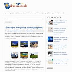 Télécharger 5000 photos du domaine public