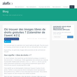 23 sites pour télécharger des photos gratuites et libres de droits