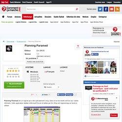 Télécharger Planning Paramed (gratuit)
