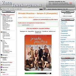 Télécharger Private Practice - Saison 5