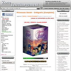Télécharger Princesse Sarah - Intégrale [Complete] French
