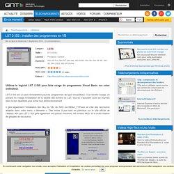 Télécharger LST 2 ISS : installer des programmes en VB