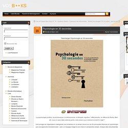 Télécharger Psychologie en 30 secondes