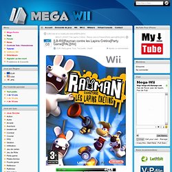 Télécharger [LB-RS]Rayman contre les Lapins Crétins[Party Game][PAL][Wii] Wii rapidshare, megaupload, letitbit