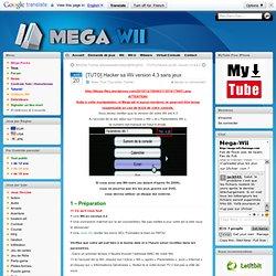 Télécharger [TUTO] Hacker sa Wii version 4.3 sans jeux Wii rapidshare, megaupload, letitbit