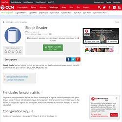 Télécharger Ebook Reader (gratuit)