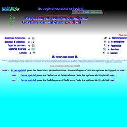 Telecharger HygieAA logiciel gestion cabinet medical gratuit complet rédaction courriers medicaux