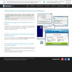 Télécharger et Installer Driver Reviver - Logiciel de mise à jour des pilotes Windows par ReviverSoft