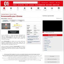 Télécharger Screencastify pour Chrome - 01net.com - Telecharger.com