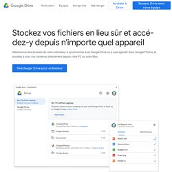 Téléchargez GoogleDrive dès maintenant: c'est gratuit
