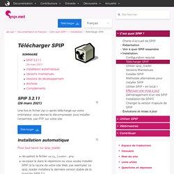 Télécharger SPIP - SPIP -