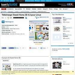 Télécharger Sweet Home 3D 3.1 (Gratuit)