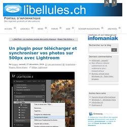 Un plugin pour télécharger et synchroniser vos photos sur 500px avec Lightroom