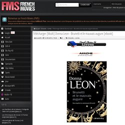Donna Leon - Brunetti et le mauvais augure [ebook] » French-Movies.Net