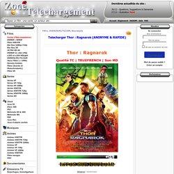 Telecharger Thor : Ragnarok gratuit Zone Telechargement - Site de Téléchargement Gratuit