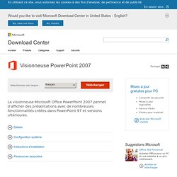 Visionneuse PowerPoint 2007 - Microsoft Download Center - Download Details - Aurora
