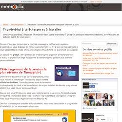 Télécharger Thunderbird : logiciel de messagerie (Windows et Mac)