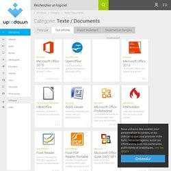 Télécharger logiciel concernant Texte / Documents (Utilitaires)