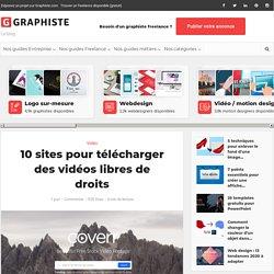 10 sites pour télécharger des vidéos libres de droits