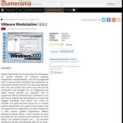 Télécharger VMware Workstation