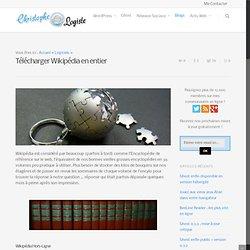 Télécharger Wikipédia en entier