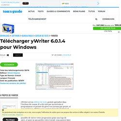 Télécharger yWriter 5.2.0.5