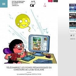 Téléchargez les fiches pédagogiques du Concours de la BD Scolaire