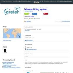 Telecom billing system, Seattle, united states