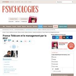 France Télécom et le management par la peur : Compétition
