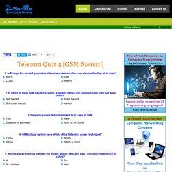 Telecom Quiz 4